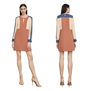 BCBGMaxAzria Cori Colorblock Dress XS